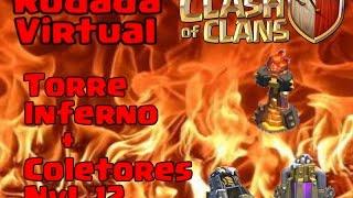 Clash Of Clans - Atualizações Torre Inferno + Brocas de Elixir Negro e Coletores