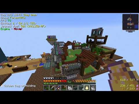 Minecraft - Project Ozone 2 #55: Better Faster Stronger