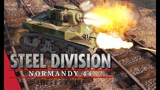 Herr Robert's GT Semi Final! Player vs włochatypająkulec, Game 2 - Steel Division: Normandy 44