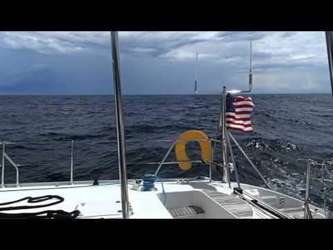 Lagoon 570 Wildcat Sails Trinidad to Grenada 11- 2015