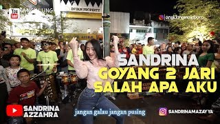 Gambar cover Sandrina - Goyang 2 Jari - Salah Apa Aku di Angklung Malioboro