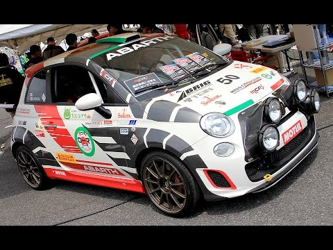 Abarth 500 Rally R3t Youtube