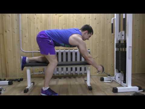 Тренировка Александра Белова Спина