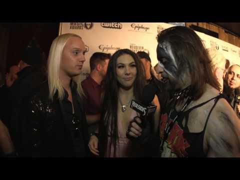 AMARANTHE Interview, Revolver Music Awards 2016 Black Carpet | MetalSucks