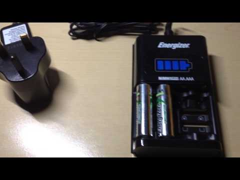 Battery Charger For Rechargeable Batteries