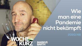 Markus Barth – Wie man eine Pandemie nicht bekämpft