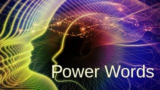 Power Words: One word Affirmations for a MAGNIFICENT lifestyle change