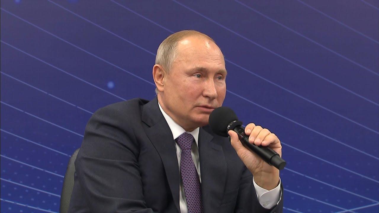 Путин: взявшись за дело, не надо плакаться