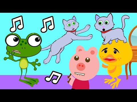 MIAU MIAU MIAU Música do Gatinho fofo - Aquarela Kids