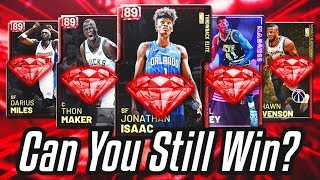 can you STILL WIN using ruby cards in nba 2k19 myteam?....