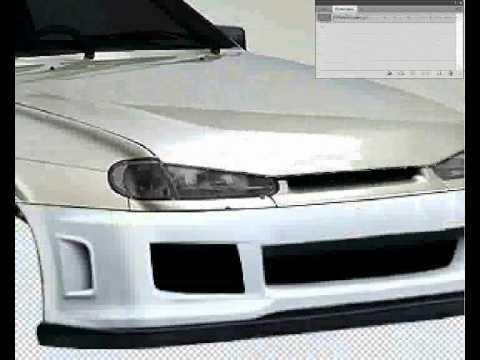 виртуальный тюнинг Lada 2114 (PhotoShop CS5).wmv