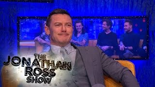 Luke Evans And Taron Egerton Have A Welsh Off - The Jonathan Ross Show Poster