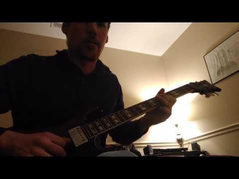 Alter bridge-crows on a wire(guitar solo tutorial)