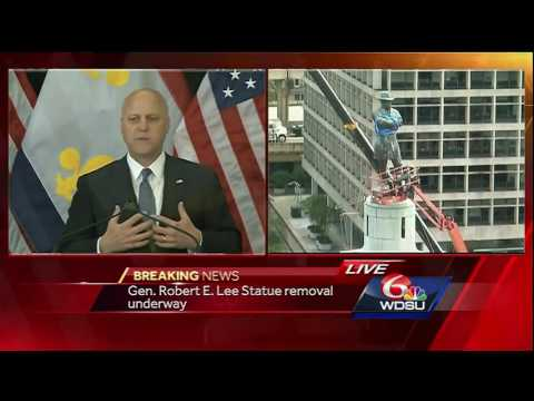 Watch again: Mitch Landrieu delivers address on removal of C