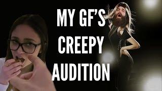 MY GF's CREEPY PORNO AUDITION!!!