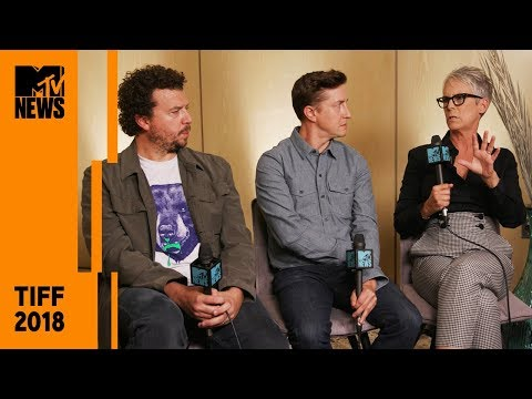Jamie Lee Curtis, David Gordon Green & Danny McBride on 'Halloween'  TIFF 2018  MTV