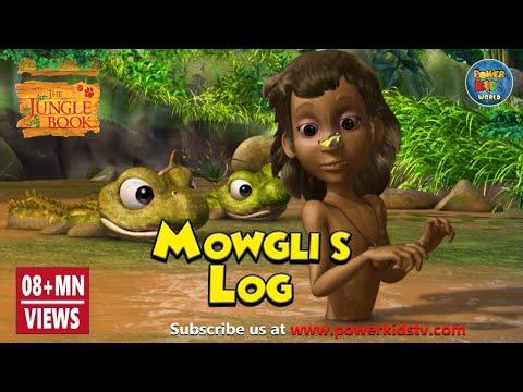 Jungle Book Season 1 | Mowgli's Log | English Stories | Animation Cartoon | Power Kids