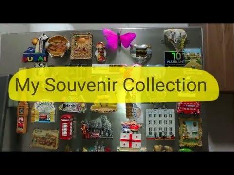 World Souvenir Collection  Fridge Magnets Collection