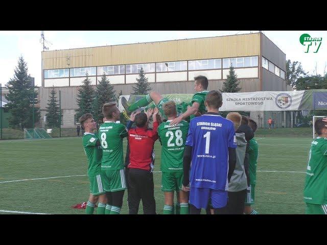 Juniorzy młodsi: Stadion Śląski Chorzów - Unia Racibórz