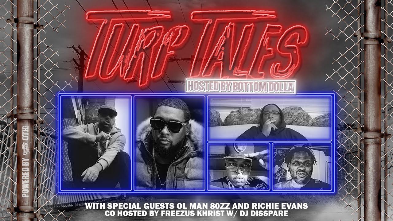 "Overtime Hustlin Presents ""Turf Tales Podcast"" Episode 48 (Richie Evans /Ol Man 80zz)"