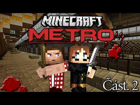 Minecraft - Dobrodružná Mapa   Metro Post Apocalypse   Část.2 w/CraftMan   ZATOPENÍ!