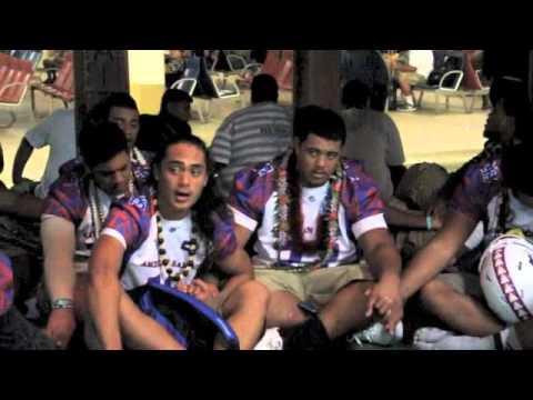 American Samoa All-Star Football Team – Arrival back on island