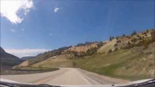 Highway 14-Bighorn Mountains Drivelapse HD