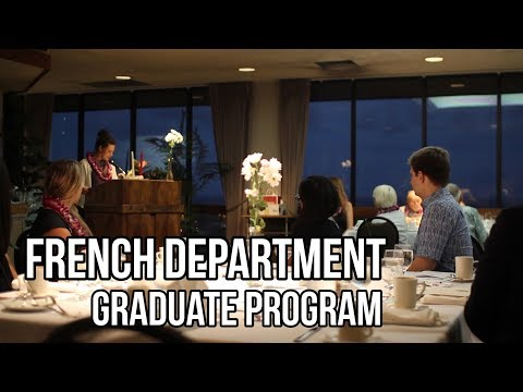 UHM French Department - Graduate Program