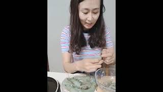 새우손질법 |생선장수민하|