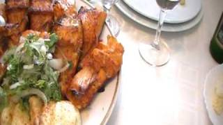 Meal at Lake Sevan, Armenia--Wish you were here