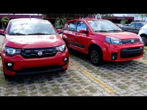 Fiat Mobi x Fiat Uno - comparativo de preço, consumo e desempenho - www.car.blog.br