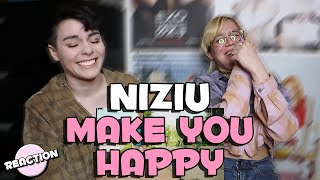 Gambar cover NIZIU - MAKE YOU HAPPY ★ MV REACTION