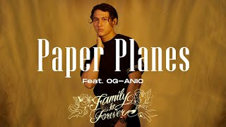 GAVIN.D - Paper Planes Ft. OG-ANIC (Official Audio)