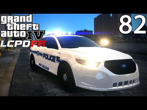 GTA IV LCPDFR 1.0 Day 82 - New Orleans Police Ford Taurus