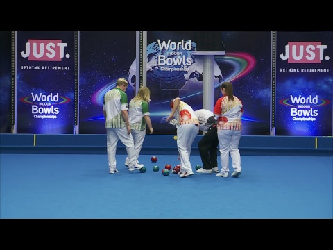 Just. 2019 World Indoor Bowls Championships: Day 8 Session 1