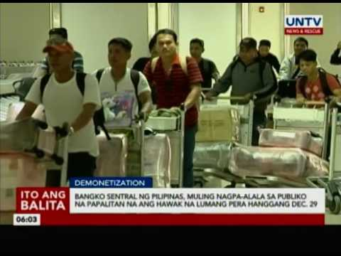 Bangko Sentral ng Pilipinas, muling nagpa-alala sa publiko na papalitan na ang hawak na lumang pera