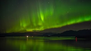 UNBELIEVABLE!!! Northern Lights in the skies from an Alaska Cruise!