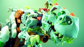 Imaginext Ultra T-Rex Dinosaur Toys | Kinder Playtime Toy Review
