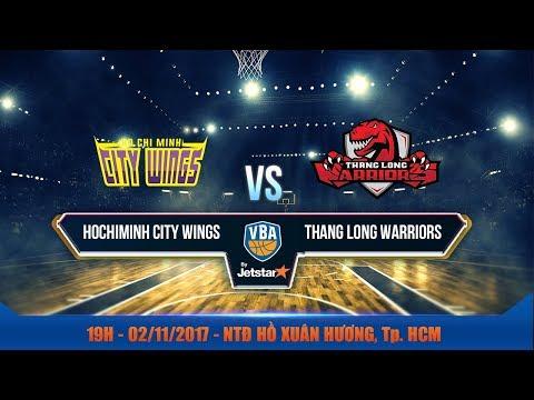 #Livestream || Game 43: Hochiminh City Wings vs Thang Long Warriors  02/11 | VBA 2017 by Jetstar