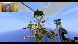 Minecraft Ultimate Tree Survival | BURN IN HELL! #5