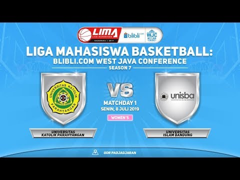 WOMEN'S: UNPAR VS UNISBA (LIMA BASKETBALL: BLIBLI.COM WJC SEASON 7)