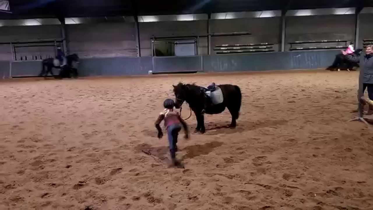 van paard vallen - YouTube