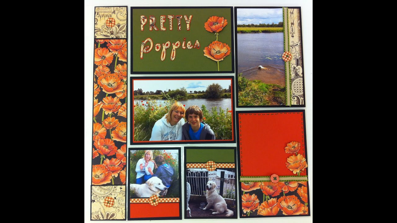Scrapbook book project ideas