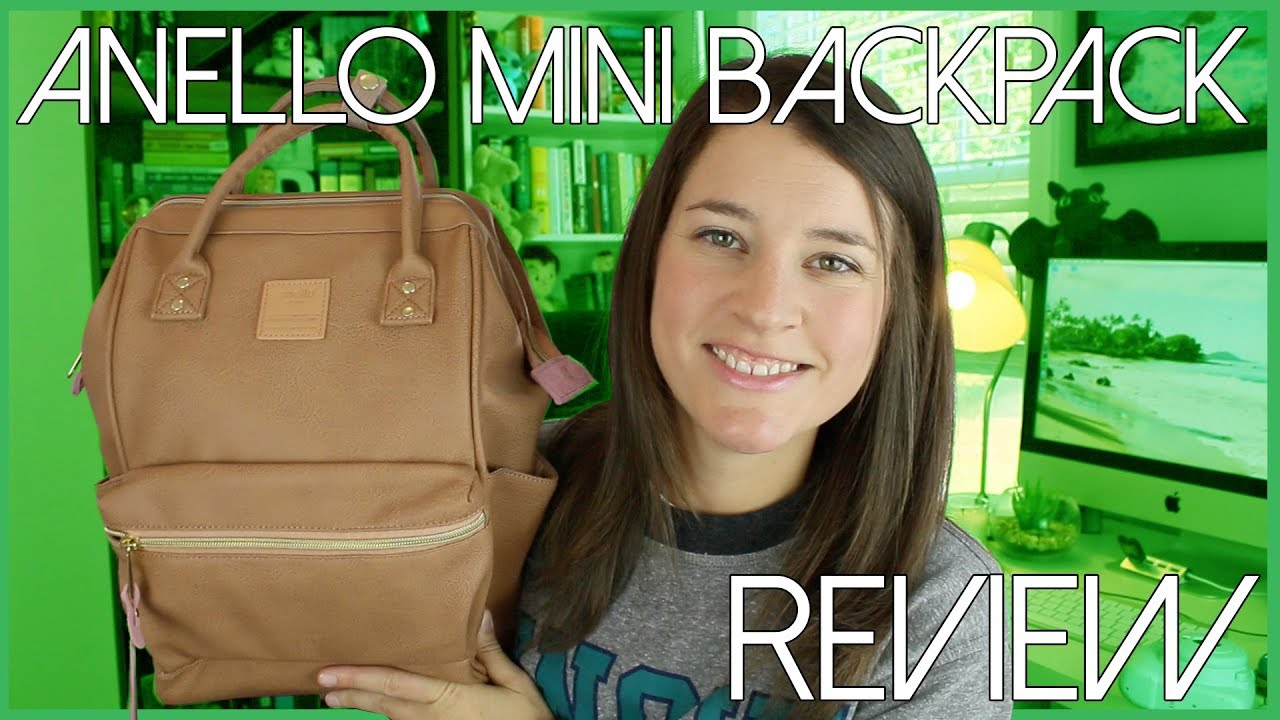 2e9bf99544 ANELLO MINI BACKPACK | review - YouTube