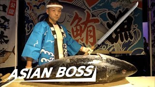 "O-""FISH""-ally Meet The Master Tuna Carver In Japan 