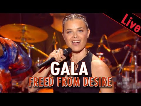 Gala - Freed from desire / Live dans Les Années Bonheur