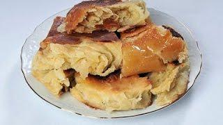 Сладкий слоеный хлеб