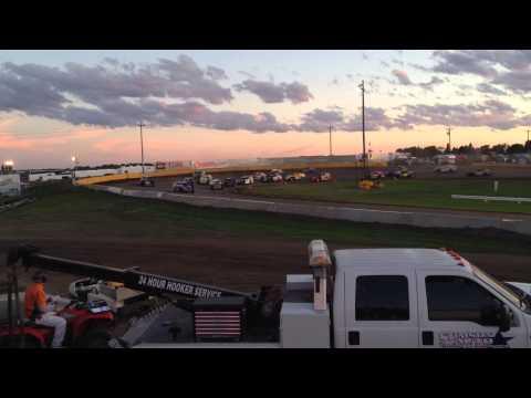 6-15-14 Casino Speedway Midwest Mod Feature Start