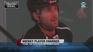 L.A. Kings' Jarret Stoll charged in Vegas drug bust