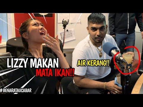 #BenarAtauCabar : Elizabeth Tan Makan Mata Ikan!